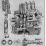 Топливный насос двигателя Д-108 четырехплунжерный