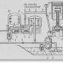 Общая схема системы тракторного двигателя