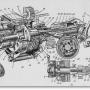 Механизмы передачи систем пуска дизелей СМД-14 и Д-50Л