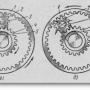 Механизм передачи системы пуска дизеля АМ-01
