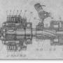 Механизм передачи системы пуска дизеля Д-37М