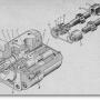 Гидравлический насос тракторов