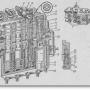 Гидравлический золотниковый распределитель в тракторах