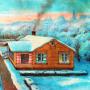 Проект 3-комнатного жилого дома для районов с зимней температурой ниже минус 30 градусов