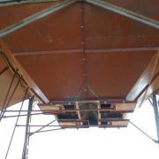 Частичный ремонт бункера с заменой задвижек