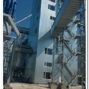 Строительство зерноочистительного и сушительного комплекса (Сам область,Кошкинский район. с.Новая Кармала)