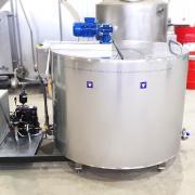 Вертикальный охладитель молока открытого типа