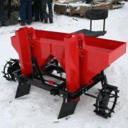 Картофелесажалка КС-2МТ 2-х рядная для мини-трактора фото