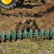 Агрегат  для измельчения остатков грубостебельных культур БОРС-9 фото