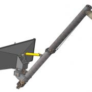 Автомобильный загрузчик  АЗПМ П-30 (борт  чернильница) рисунок