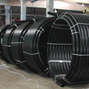 Предлагаем трубы для отопления и канализации, обсадные трубы для скважин из ПНД !