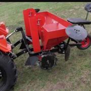 Картофелесажалка КС-2МТ 2-х рядная для мини-трактора фотография