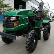Трактор Файтер T-15 с почвофрезой