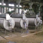 самопромывной барабанный микроситчатый механический фильтр (drum rotari filter) используется в оборотных системах для чистки воды от взвеси и крупных частиц.