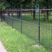 железные ограды