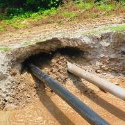Прокол грунта под систему магистрального водопровода