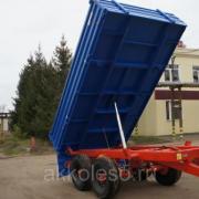 Полуприцеп тракторный самосвальный ППТС-4,5 (спаренная ось) фото