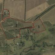 План земельного участка сельскохозяйственного назначения 16 га, расположенный в Веневском районе Тульской области
