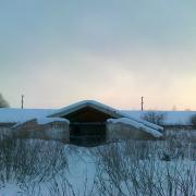 Фото здание свинарника, расположенное в Веневском  районе Тульской области в 167 км от МКАД по трассе ДОН М 4