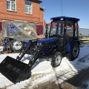 Полноприводный трактор Foton Lovol TE-244C фото