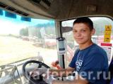 Передовиком хозяйства в Татарстане стал 18-летний комбайнер