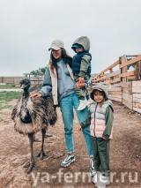 Более 10 тысяч туристов посетили страусиную ферму в Высокогорском районе