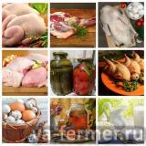Свежие мясо, яйца, козье молоко и продукты из него с мини-фермы