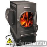Печь даёт электричество, дровяная, отопительно-варочная.