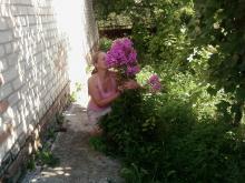я на усадьбе под Харьковом