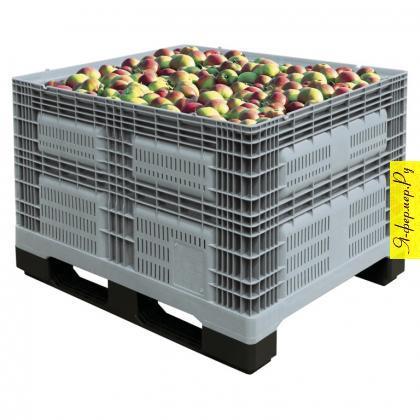 Пластиковый контейнер. Виды контейнеров для хранения овощей и фруктов